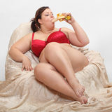 Plátano dulce. Imagenes de archivo