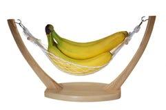 Plátanos en hamaca Fotos de archivo libres de regalías