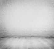 Plâtre minimaliste blanc, fond de mur en béton Images libres de droits