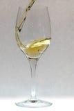 pluśnięcia wino Zdjęcie Royalty Free