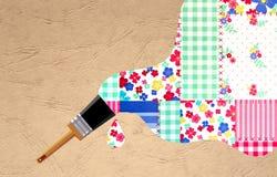 Pluśnięcie colour Obraz Stock