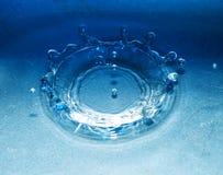 pluśnięcie opadowa woda Fotografia Royalty Free