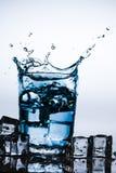 pluśnięcie piękna woda Obrazy Stock