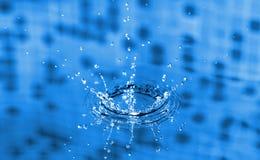 pluśnięcie woda Obrazy Royalty Free