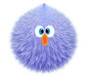 Pluchestuk speelgoed blauwe 3D royalty-vrije illustratie