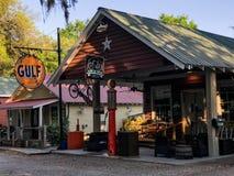 Pluff Mudd, επιχείρηση καφέ, Port-Royal, νότια Καρολίνα στοκ φωτογραφία