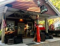 Pluff Mudd, επιχείρηση καφέ, Port-Royal, νότια Καρολίνα στοκ εικόνα