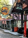 Pluff Mudd, επιχείρηση καφέ, Port-Royal, νότια Καρολίνα στοκ εικόνες