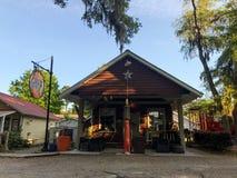 Pluff Mudd, Coffee Company, Port Royal, Carolina del Sur foto de archivo libre de regalías