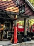 Pluff Mudd, Coffee Company, Port Royal, Carolina del Sur fotografía de archivo