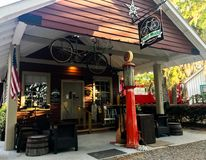Pluff Mudd, Coffee Company, Port Royal, la Caroline du Sud image stock