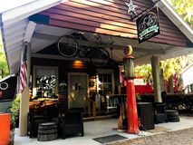 Pluff Mudd, Coffee Company, Port Royal, la Caroline du Sud photos libres de droits