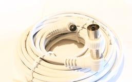 Plug. Télévision cable stock images