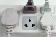 Plug. Power, a symbol of competition Stock Image