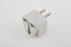 Plug adapter. Three way plug socket adapter Stock Photography