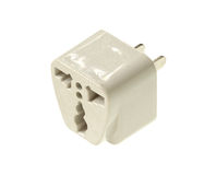 Plug adapter Royalty Free Stock Photos