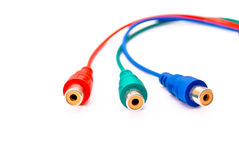 Plug audio Royalty Free Stock Photo