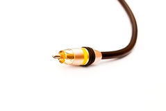 Plug audio Royalty Free Stock Photo