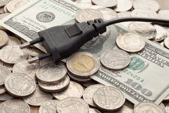 Plug on bill Stock Images