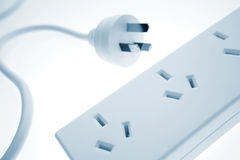 Plug & board Royalty Free Stock Photo