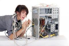 Plug confusion Stock Image