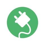 Plug energy environment design. Illustration eps 10 royalty free illustration
