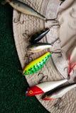 Plug for fishing Stock Image