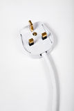 Plug head on white background Royalty Free Stock Image
