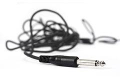 Plug headphone Stock Photography
