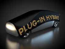 Plug-in hybrid electric vehicle Stock Photos