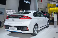 Plug-in Hyundai Ioniq стоковые изображения