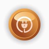 Plug icon Royalty Free Stock Photo