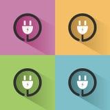 Plug icon Stock Photography