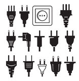 Plug icon Royalty Free Stock Photo