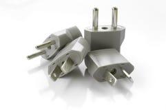 Plug isolated on white. (Isolated on white background Stock Photo