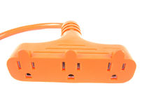 Plug  Over White Background Stock Images