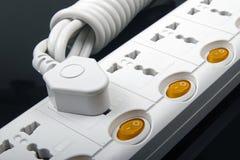 Plug in power-board  Stock Image