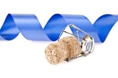 Plug and the ribbon Royalty Free Stock Image