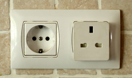 Plug Socket Stock Photography