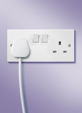 Plug and socket Royalty Free Stock Images