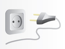 Plug and socket Stock Photos