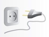Plug and socket Stock Photos