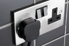 Plug socket in kitchen Royalty Free Stock Image