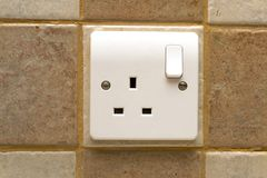 Plug socket Royalty Free Stock Photos