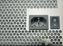 Plug and switch Stock Image