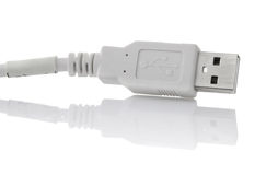 Plug of usb cable Stock Images