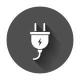 Plug vector icon. royalty free illustration