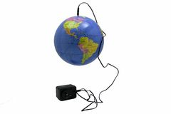 pluggad värld Royaltyfria Foton