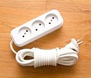 Pluggade in elektriska apparater Fotografering för Bildbyråer