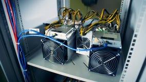 Plugged-in作用的计算机通风设备 股票视频